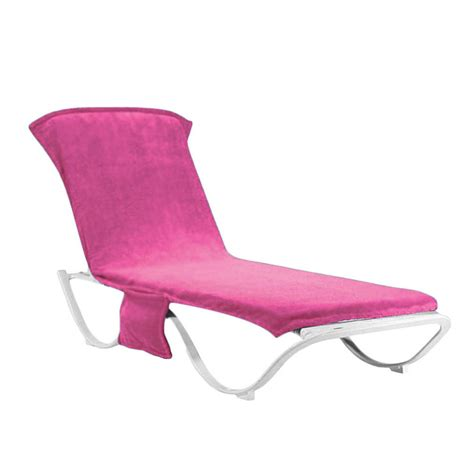 lounge chair cover towel for garden lounge