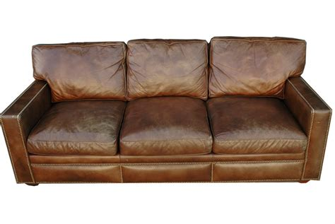 distressed brown leather sofa distressed brown leather sofa distressed handmade brown