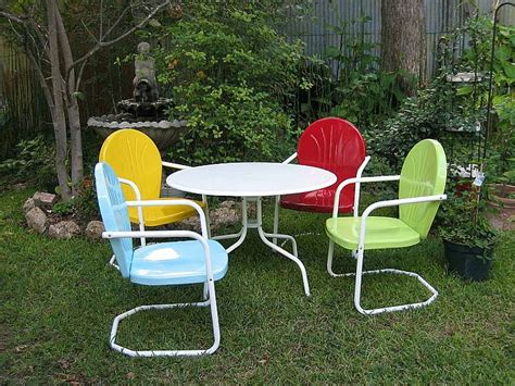 retro patio furniture vixen vintage summertime retro patio