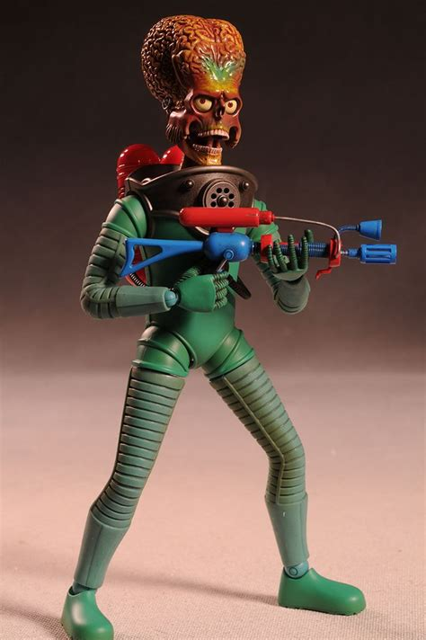 hot toys mars attacks martian sixth scale action figure