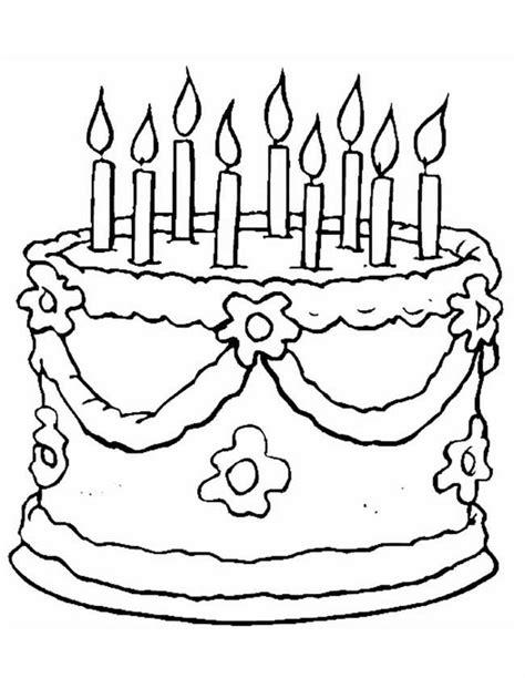 Verjaardags Kleurplaten Voor by Kleuren Nu 9e Verjaardag Kleurplaten