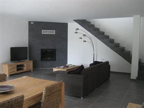 sejour gris  blanc natacha bouveron architecte photo