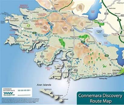 Connemara Map Clifden Town Maps