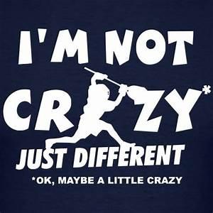 I'm Not Cra... Good Lax Goalie Quotes