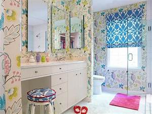 girl39s bathroom decorating ideas pictures tips from With bathroom girls pic