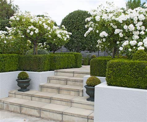 structured  semi formal garden  blenheim