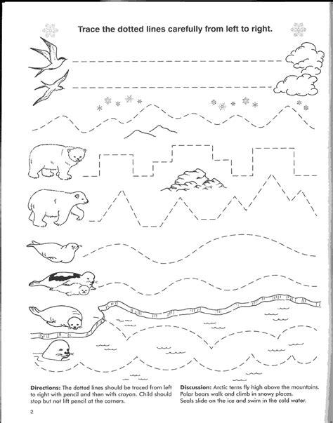 kindergarten tracing worksheets shamrock connect the