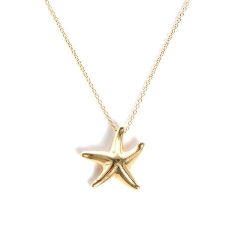 Tiffany & Co 18k Yellow Gold Starfish Pendant Necklace 79358. Colored Diamond Wedding Rings. Stacked Rings. December Necklace. Snowflake Gemstone. Green Diamond Stud Earrings. Trio Bands. Custom Wedding Bands. Amorphous Diamond