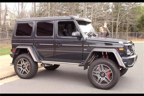 lifted mercedes sedan every luxury car brand should have a mercedes g class