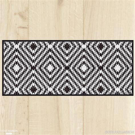tapis de cuisine gris tapis de cuisine carreaux de ciment côte paillasson côté maison