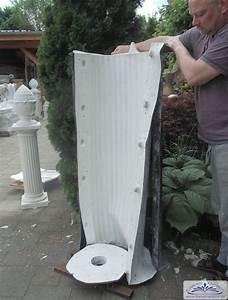 Formen Für Beton : polyesterform negativform f r betons ule selber herstellen und gie en einer s ule mit einer ~ Yasmunasinghe.com Haus und Dekorationen