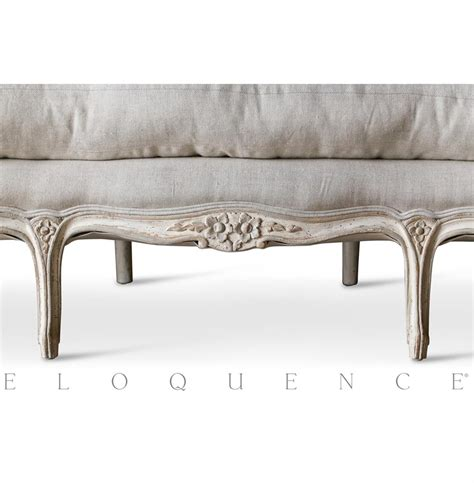 canapé sofa eloquence seraphine canape sofa in gesso oyster kathy kuo home