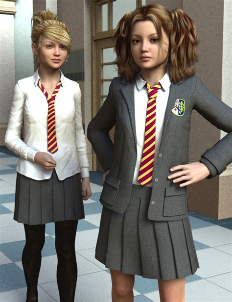 Time for School for Genesis 2 Female(s) | 3D Models and 3D Software by Daz 3D