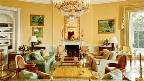 Home Interior Oval Pictures : Inside The White House Private Residence Of The Obama
