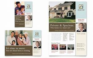 House for sale real estate flyer ad template design for Real estate advertisement template