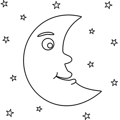 mm moon coloring page kindergarten moon coloring pages 498 | 7a987a031aee8547b86a4ca903aa4ff9