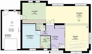 maison familiale 5 detail du plan de maison familiale 5 With faire un plan de maison 10 modale maison contemporaine atria