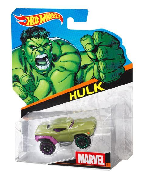 Hot Wheels® Marvel Character Cars  Hulk  Shop Hot Wheels
