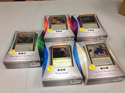 Magic The Gathering Preconstructed Decks 2014 by Magic The Gathering Commander Decks Rogues Gallery