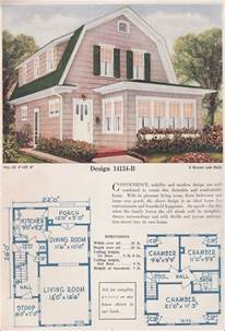 colonial revival house plans c l bowes co 1925 colonial revival gambrel roof shed dormers