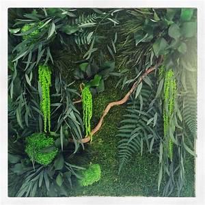 Tableau Végétal Mural : les 25 meilleures id es de la cat gorie tableau v g tal ~ Premium-room.com Idées de Décoration