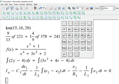 7 Best Free Math Equation Editor Software For Windows