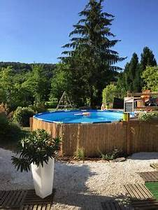 amenagement piscine hors sol piquet d39acacia lame With photo d amenagement piscine 9 plutat jardin ou piscine les plus beaux jardins