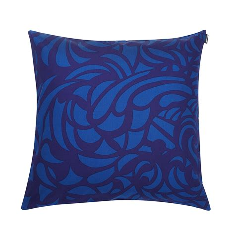 blue and throw pillows marimekko raakel blue blue throw pillow marimekko