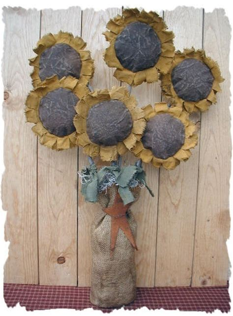 free craft ideas for 1000 images about primitive sunflower on 7729