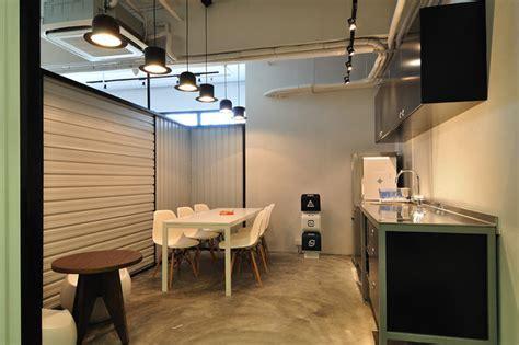 A Cool Raw Office Design   Modern   Home Office   Hong