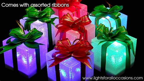 Lighted Gift Box-youtube