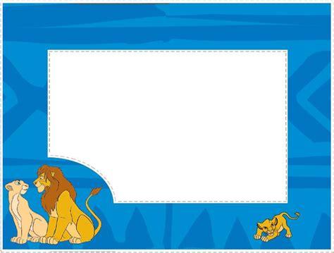 cadre photo a imprimer gratuitement cadre de tableau simba le d 233 coupage a imprimer