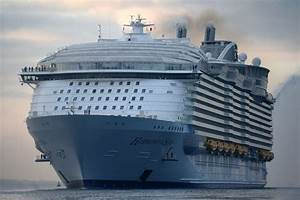 World's largest passenger cruise ship prepares for maiden ...