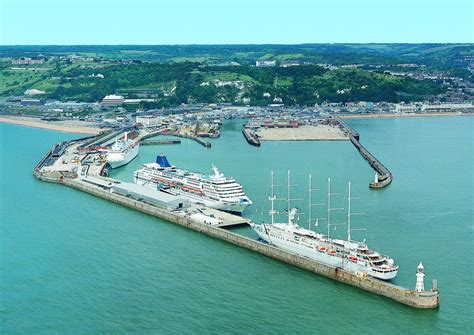 Ship Port by Dover Cruise Ship Terminal Fitbudha