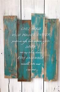 les 25 meilleures idees concernant panneaux en bois sur With palette de couleur turquoise 7 meuble de jardin en palette de bois cate maison