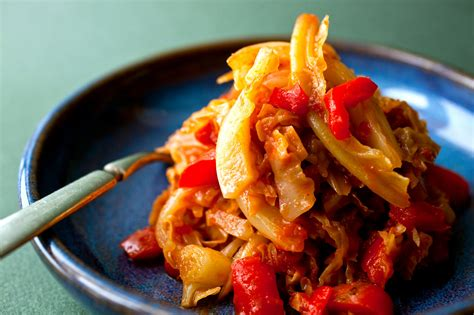 cabbage recipes stew recipe andalusian spanish cooking onion nytimes vegetarian