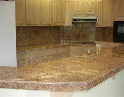 kitchen tile countertop ideas best materials for kitchen countertops