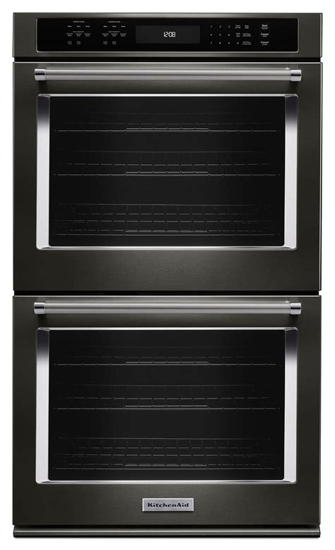"KitchenAid KODE507EBS 27"" Double Wall Oven w/ Even Heat"