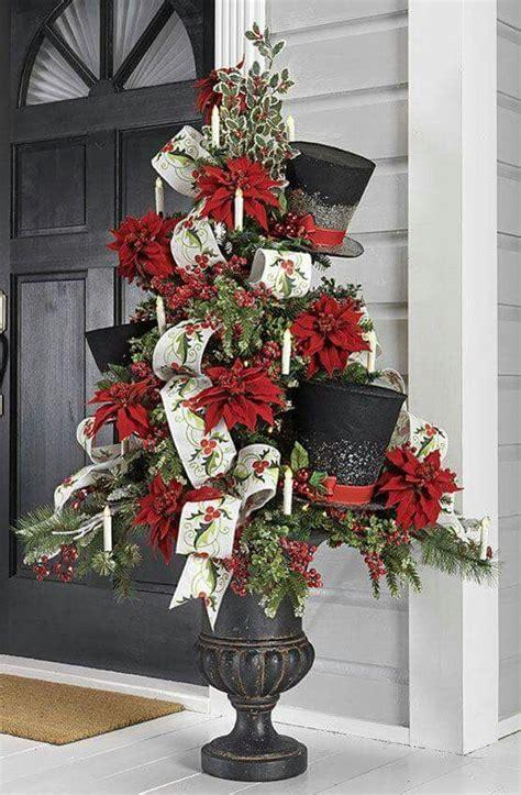 christmas topiary ideas  pinterest christmas