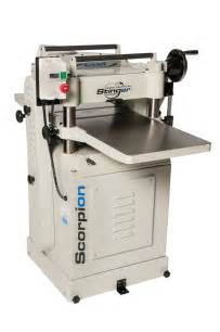 scorpion   hp helical thickness planer cwi