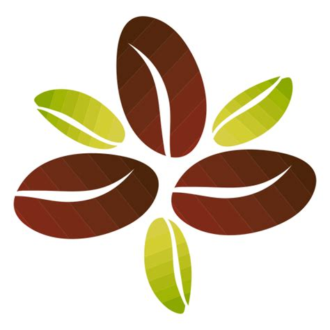 Download transparent coffee icon png for free on pngkey.com. Coffee beans flower - Transparent PNG & SVG vector file