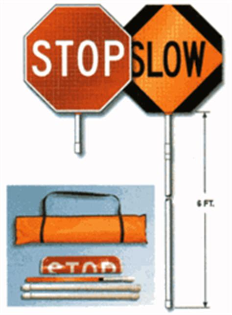 buy held reflective stop sign paddles