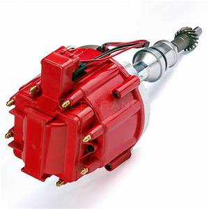 Red Cap Distributor W   65k Coil Sbf Ford Small Block 260