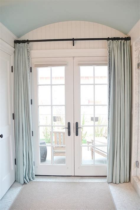 ways   ideas  cover french door windows shelterness
