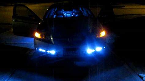 acura tl strip led lights  white interior dome lights