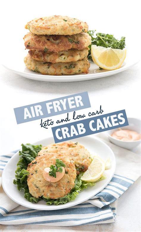 air fryer crab cakes recipe air fryer keto  carb