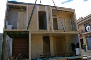 Maison Modulaire Bois : maison en bois modulaire cheste valencia ~ Melissatoandfro.com Idées de Décoration