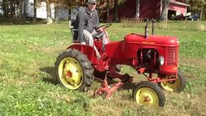 Massey Harris Pony With Sickle Bar Mowing