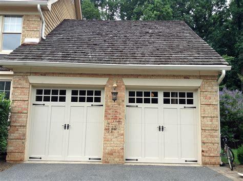 carriage house doors carriage doors custom overlay mount garage doors