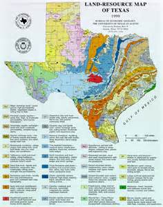 Texas Land Resources Map